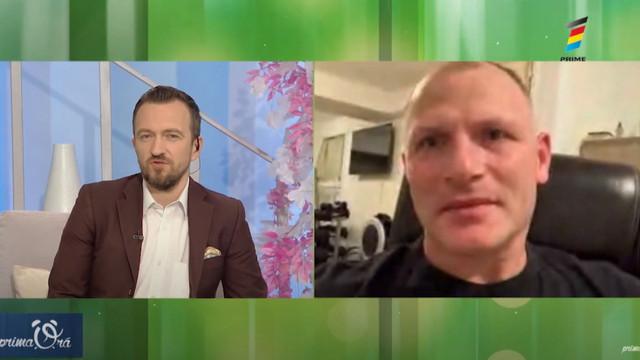 """Actorul moldovean, Vitalie Ursu, în rolul lui Iuri Gagarin în pelicula """"Bătălia pentru spațiu""""."""