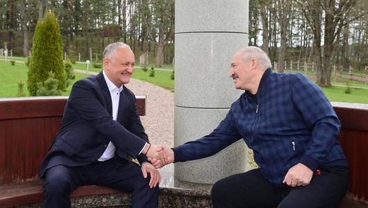 Dodon s-a întâlnit cu Lukașenko: Belarus rămâne unul dintre cei mai mari importatori ai produselor agroindustriale moldovenești