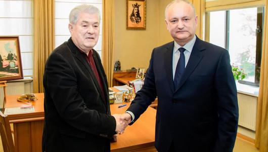 Igor Dodon și Vladimir Voronin au semnat documentul oficial de creare a Blocului Electoral al PSRM și PCRM