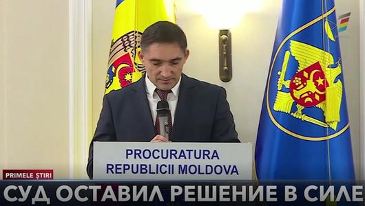 Кишиневский суд оставил в силе решение генерального прокурора об отмене распоряжений, выданных прокуратурой по борьбе с организованной преступностью и особым делам