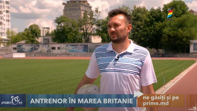 Are propriul club de fotbal în Marea Britanie! Povestea moldoveanului Vasile Buza, care își construiește o carieră frumoasă departe de casă