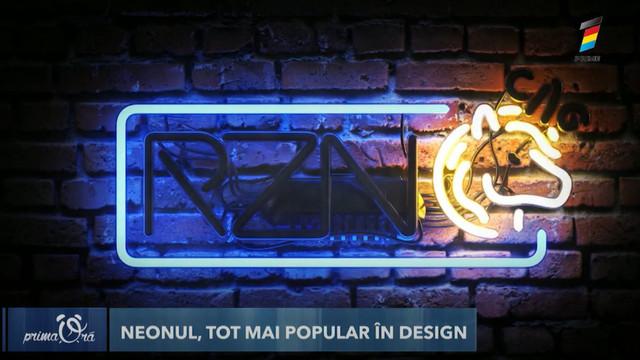 Neonul, tot mai popular în tendințele de design. În ce tip de interior se încadrează cel mai bine