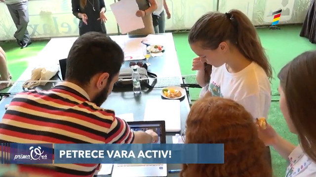 Petrece vacanța activ și util! Oportunități pentru tineri pe timp de vară