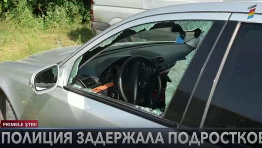 Полиция задержала подростков, которые взломали несколько автомобилей в столице