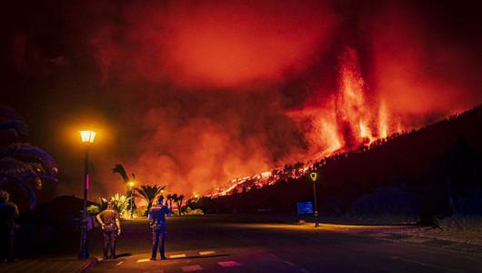 На острове Ла Пальма произошло извержение вулкана