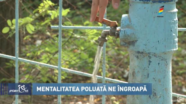 Țara care ne otrăvește! De ce în unele localități apa din fântâni este toxică