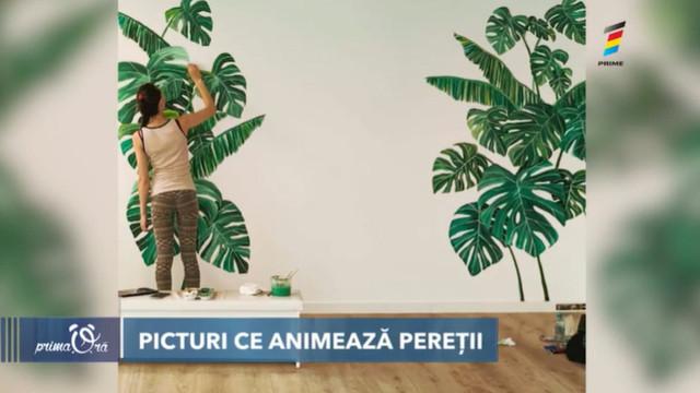 Pictorița Ana Popovici a renunțat la tatuaje și a trecut la murale
