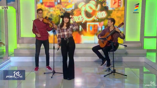"""Wake me up"" - Felicia Dunaf LIVE la Prima Oră"