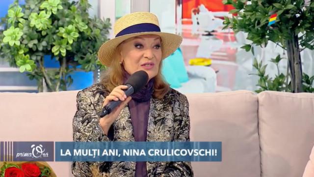 Nina Crulicovschi, la 70 de ani. Noile sale pasiuni și cântecele pe care și le-ar dori lansate