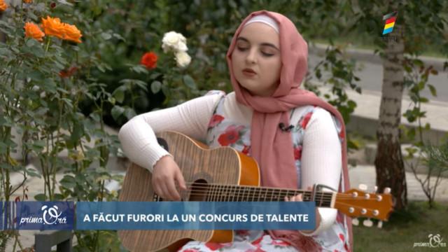 Moldoveanca musulmană care a făcut furori la un concurs din România