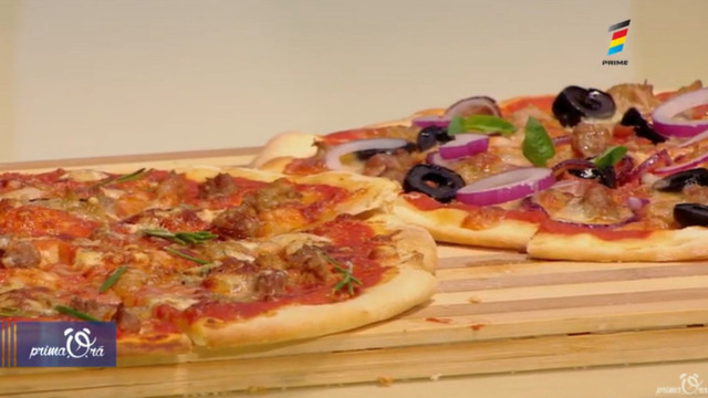 Rețeta de la Prima Oră: Pizza gătită acasă