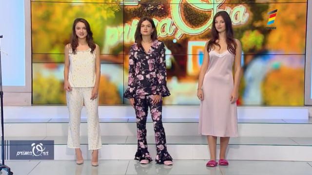 Senzualitate și confort. Ana Popova alintă femeile cu o colecție de pijamale