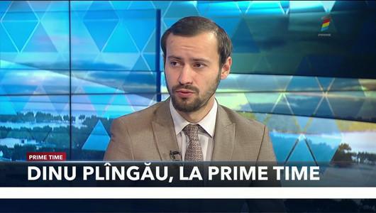 Dinu Plîngău, președinte interimar al PPDA, invitat la PRIME TIME
